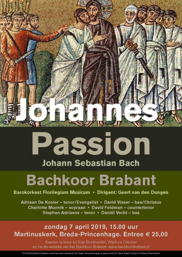 Bachkoor Johannes Passion 2019